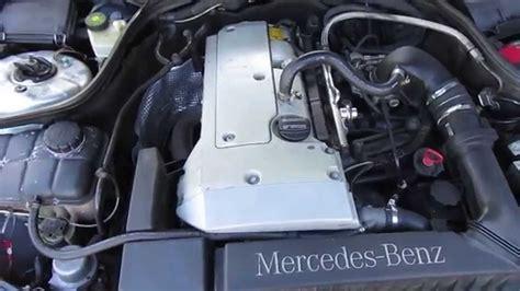 how does a cars engine work 2000 mercedes benz clk class user handbook m17214 mercedes w203 c180 111951 auto 2000 engine testing youtube