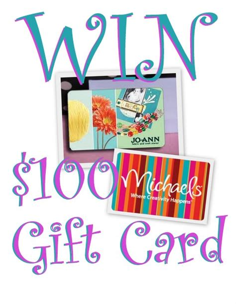 Joann Fabrics Gift Cards - giveaway winner announcement and oh my creative update oh my creative