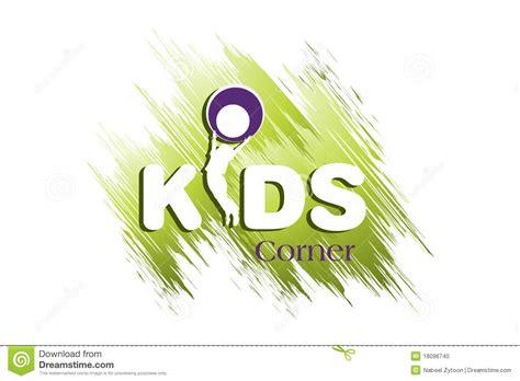 kids logo design stock illustration image of childhood kids logo design stock photo image 18096740