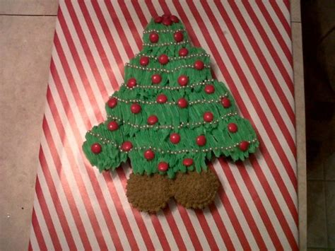 best pull apart christmas tree my cupcake pull apart tree cakecentral