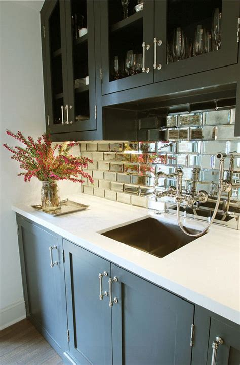 mirror kitchen backsplash give your kitchen an 80 s inspired ugrade backsplash ideas mirror tiles interior paint
