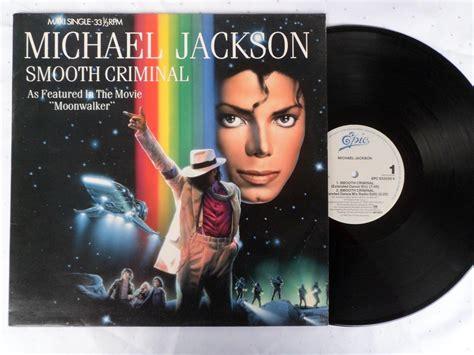 Michael Jackson Criminal Record Michael Jackson Smooth Criminal Vinyl 12 Quot 33 Rpm Maxi Single 5 Tracks