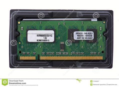 Memory Macro Computer Memory In Box Macro Royalty Free Stock