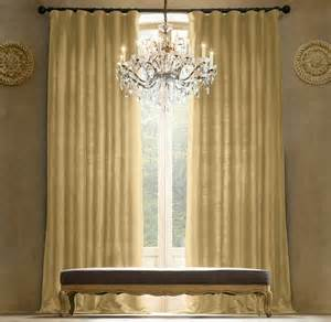 restoration hardware drapery hardware thai silk solid drapery curtains blinds