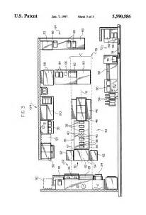 Small Galley Kitchen Design Layouts patent us5590586 kitchen layout system google patents