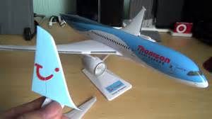 premier planes 787 thomson unboxing and review 1 200 scale