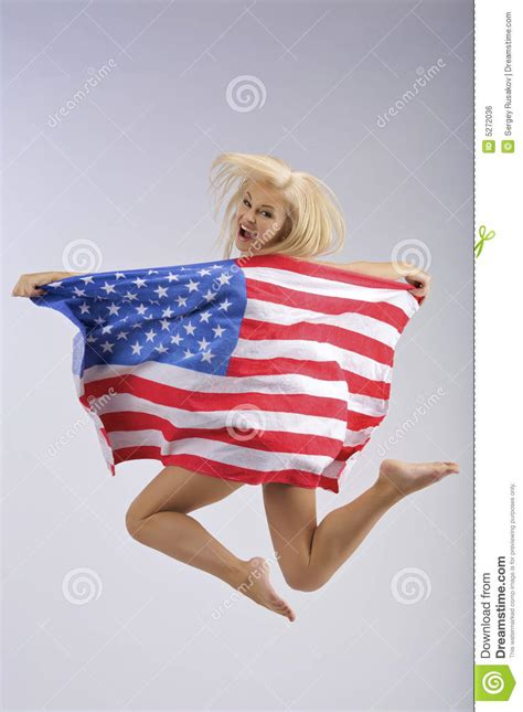 Jump Usa Usa Jumping Royalty Free Stock Image Image 5272036
