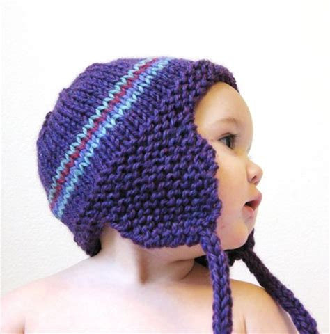 earflap hat knitting pattern free knitting pattern toddler earflap hat simple