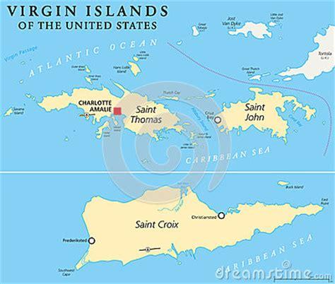 united states islands map united states islands political map stock vector