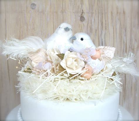shabby chic wedding cake toppers time for the holidays
