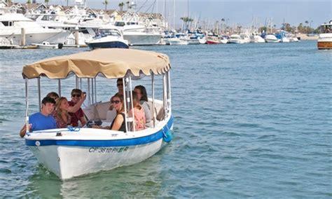 duffy boat rental newport beach deals electric boat rental wayward captain watersports groupon