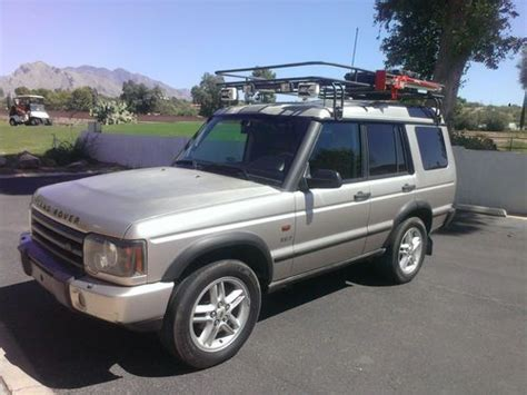 land rover discovery safari purchase used 03 land rover discovery 4x4 4 6l v8 safari