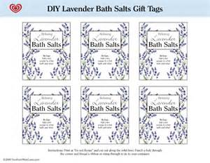 Bathroom Design Template Southern Relaxing Hostess Gift With Diy Lavender Bath Salts Printable Tags
