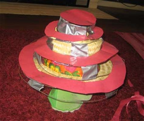 How To Make A Devo Hat Out Of Paper - devo hats for the guitar