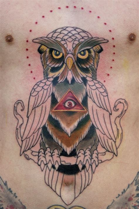 illuminati owl tattoo design owl tattoos for men tattoos art