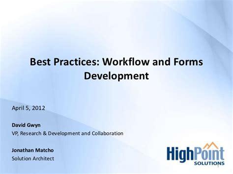 sharepoint workflow best practices gr8 sharepoint conference best practices workflows and