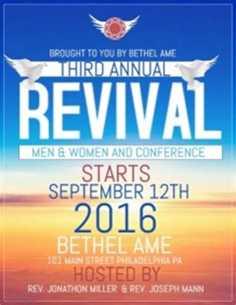 church revival flyer template free customizable design templates for church revival