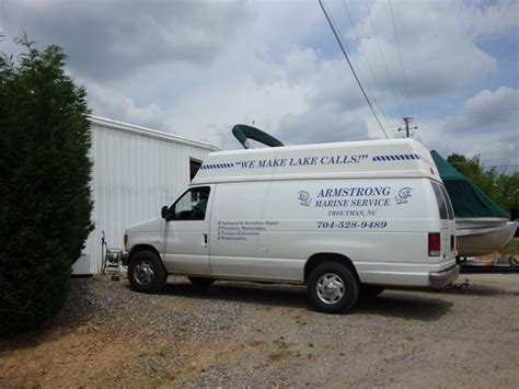 lake norman mobile boat repair armstrong marine service see inside our shop we have a