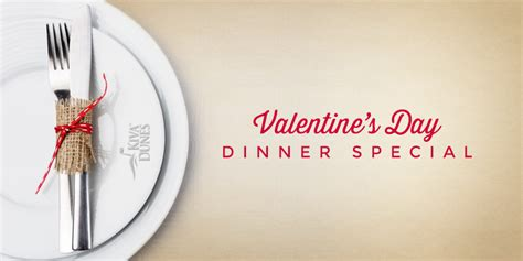 special valentines dinner news specials events more gulf shores al kiva dunes