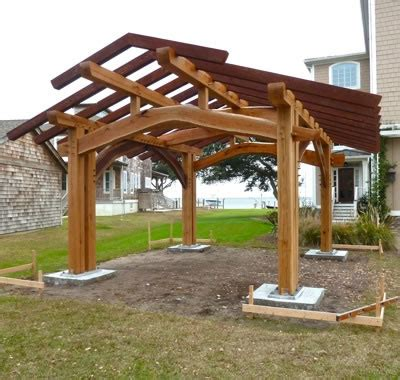 Build Your Own Kitchen Island Plans outdoor kitchen pavilion david yasenchack timber framing