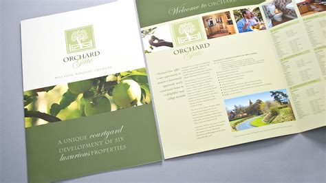 land layout brochure residential property brochure london cheshire cambridge