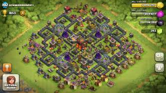 Clash of clans tips town hall level 10 layouts