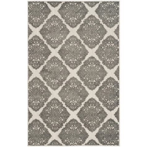Cottage Area Rugs Safavieh Cottage Indoor Outdoor Gray 3 Ft 3 In X 5 Ft 3 In Area Rug Cot907c 3 The