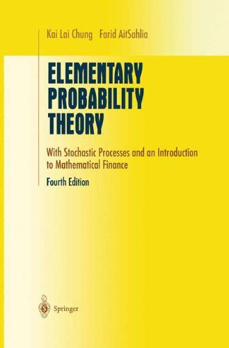 Elementary Probability Theory With Stochastic Processes