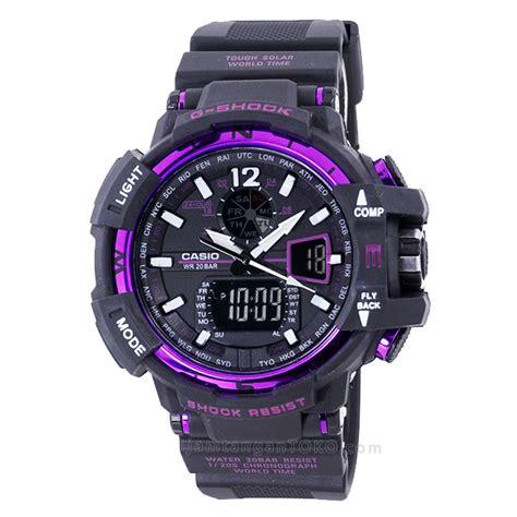 Jam Tangan G Shock Gwa1100 Black harga sarap jam tangan g shock gwa1100 hitam ungu
