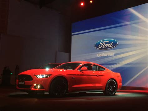 what happened to the ford mustang used in the steve ford mustang india launch to happen in second quarter of