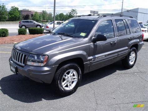 2004 Jeep Grand Weight Graphite Metallic 2004 Jeep Grand Laredo 4x4