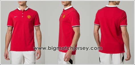 Tshirt Manchester United 2 Merah polo shirt manchester united 2014 2015 big match