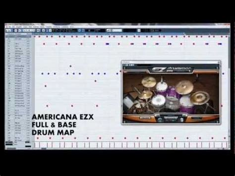 tutorial drum map cubase toontrack ezdrummer drum maps for cubase pack 02 youtube