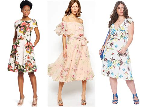 Wedding Attire Guest by Guest Attire Floral Dresses For Summer Weddings