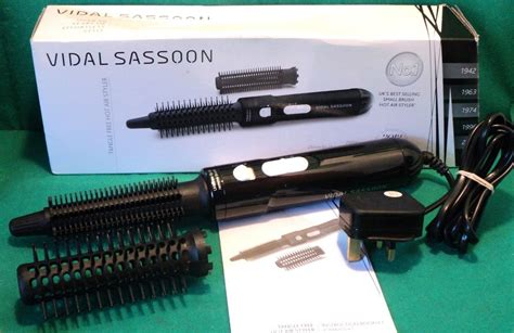 Vidal Sassoon Hair Dryer Ebay vidal sassoon vsha64171 air styler brush hair dryer