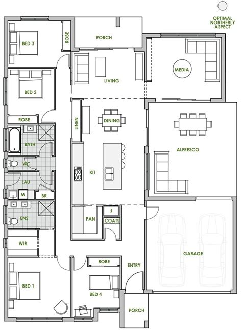 efficient house plan 20 best green homes australia energy efficient home