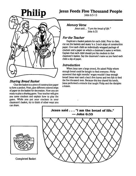 sunday school coloring pages fish jesus feeds 5 000 craft jesus feed 5000 sunday school