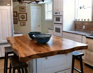 Wood Island Tops Kitchens Antique Longleaf Pine Custom Wood Countertops Butcher