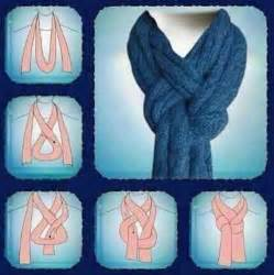 Different Ways To Tie An Infinity Scarf Diy Cool Way To Tie A Scarf Diy Projects Usefuldiy