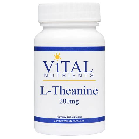 supplement l theanine l theanine 200mg