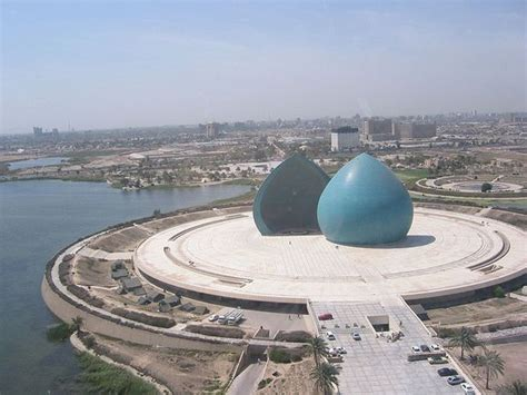 out of my leveling the field for iraqi books the clam shells al shaheed monument martyr s memorial