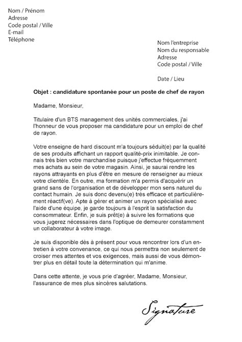 Lettre De Motivation De Els Lettre De Motivation Lidl Mod 232 Le De Lettre