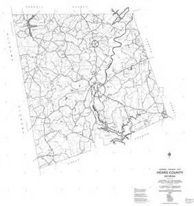 heard map transportation in heard county