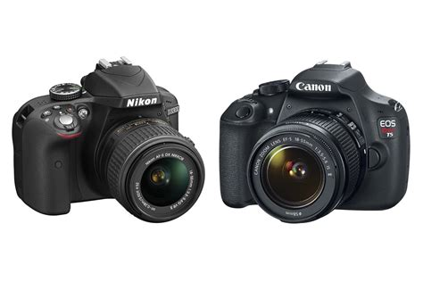 nikon rebel canon rebel t5 vs nikon d3300 a budget dslr
