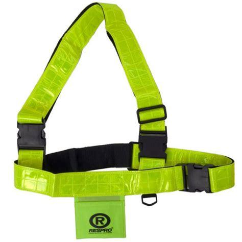 respro 174 hi viz reflective sam browne cycle safety belt ebay