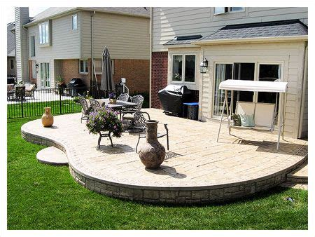 20 best images about patio shapes on pinterest fire pits