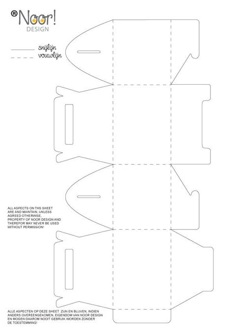 pattern design box free template gable box do it yourself ideas pinterest