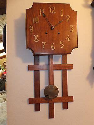 Antique Mission Style Pendulum Clock
