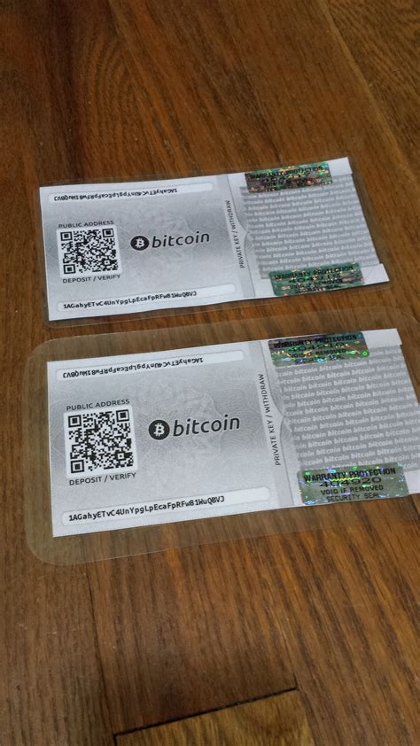 bitcoin paper wallets morning musings