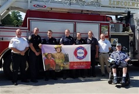 lincolnton fire department lincoln county fire fighters fill the boot september 10